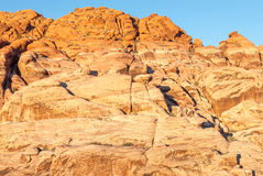 Striations at Red Rock Conservation Area, Nevada, III Stock Photos