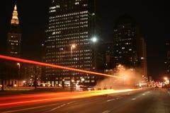 Striatura di traffico Fotografia Stock Libera da Diritti