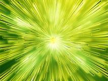 Striature di burst di indicatore luminoso Fotografie Stock
