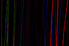 Striature di indicatore luminoso Immagini Stock