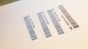Strichkode Label stock footage