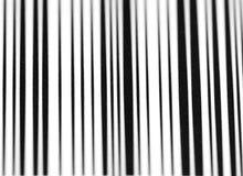 Strichkode-Stäbe stockfoto