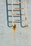 Strichleiter Stockfoto