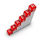 Strichleiter der Karriere lizenzfreie abbildung