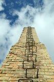Strichleiter im Himmel Stockfoto