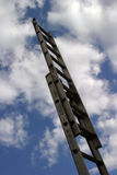 Strichleiter zum Erfolg #2 Stockbild