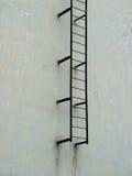Strichleiter zum Himmel Stockfotografie
