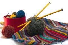Stricken, Threads Stockfoto
