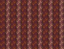 Strickendes Muster Stockbild