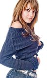 Strickjacke Stockfoto