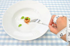 Strict diet Royalty Free Stock Photos
