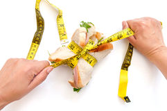 Strict diet Stock Images