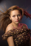 The strict girl Stock Photography