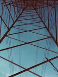 Electric geometry stock photography