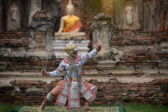 STRICTLY KHON DANCING. PERFORMERS of one of Thailand's most highly regarded dances are keeping the tradition alive, despite the recent decline in popularity of Stock Images