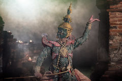 STRICTLY KHON DANCING (THOTSAKAN) Stock Photography
