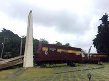 Strid av den Santa Clara monumentet, Kuba Arkivbild