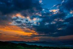 Strid av himlen Royaltyfri Fotografi
