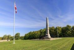 Strid av monumentet för lantgård för Crysler ` s Arkivbild