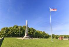 Strid av monumentet för lantgård för Crysler ` s Royaltyfria Bilder