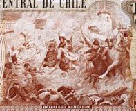 Strid av Rancagua Arkivbild