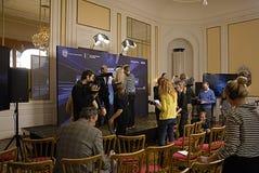 STRID FÖR EUROVISION SÅNG 2014 Arkivfoton