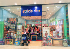 Stride rite shop in hong kong Royalty Free Stock Photo