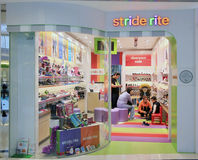 Stride rite shop in hong kong Stock Photography