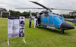 Stridhelikoptrar Royaltyfri Fotografi