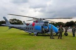 Stridhelikoptrar Fotografering för Bildbyråer