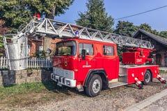 Stridighetmedel för röd brand Arkivbild