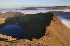 Striding Edge From Helvellyn Royalty Free Stock Image