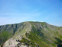 Striding Edge, Lake District, England Royalty Free Stock Photography