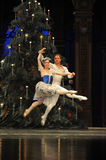 Striding jump- The second act second field candy Kingdom -The Ballet  Nutcracker Stock Image