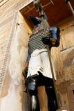 Stridingsjakhals onder ogen gezien God, Anubis stock foto's