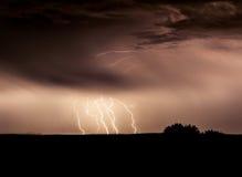 strieks of lightning Royalty Free Stock Image