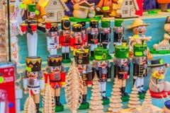 Striezelmarkt famoso a Dresda immagine stock