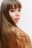 Stright long hair Stock Photography