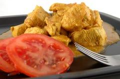 Strigli il pollo Fotografia Stock