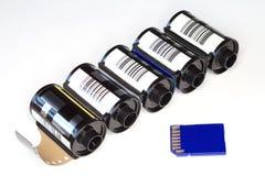 Strijd van technologieën Stock Afbeelding
