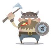 Strijdkreet van de Vikingen vector illustratie