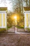 Strijk poort Royalty-vrije Stock Afbeeldingen