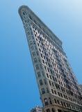 Strijkijzer dat NYC bouwt Stock Foto
