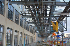 Strijp S, Eindhoven, poprzednie Philips fabryki i budynki biurowi, Fotografia Royalty Free