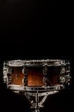 strik op een zwarte achtergrond, muzikaal instrument royalty-vrije stock foto