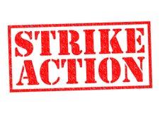 STRIKE ACTION Stock Image