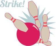 Strike Bowling Royalty Free Stock Photos