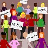 Strike Royalty Free Stock Photos