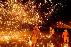 Strike hotting iron Royalty Free Stock Photography
