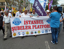 STRIKE IN TURKEY Stock Image